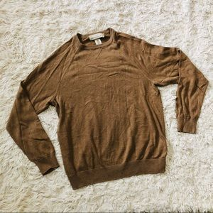 H&M • Crew Neck Sweater • Brown